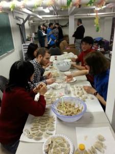 CTR Dumpling making CNY 2014