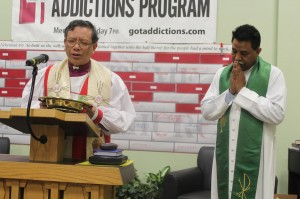 Bp Stephen n William John praying